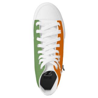 My Irish Colors Tennis Shoe Printed Shoes