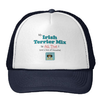 My Irish Terrier Mix is All That! Mesh Hat
