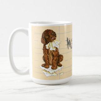 My Irish Water Spaniel Ate My Homework Coffee Mug