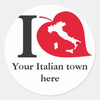 My Italian town stickers