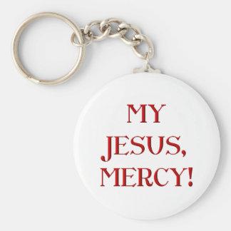 My Jesus, Mercy! Key Ring