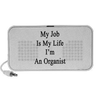 My Job Is My Life I'm An Organist Mini Speakers