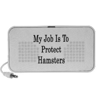 My Job Is To Protect Hamsters PC Speakers