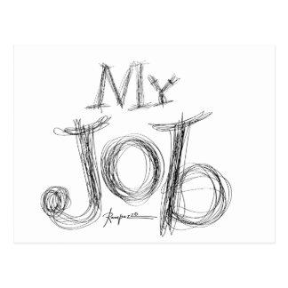My-Job Post Card