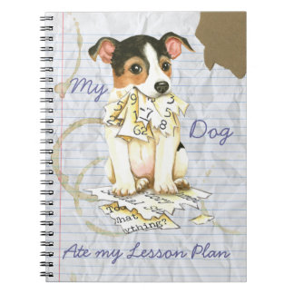My JRT Ate My Lesson Plan Notebook
