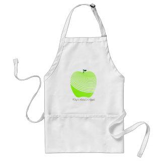 My Juicy Green Apple Chef Apron