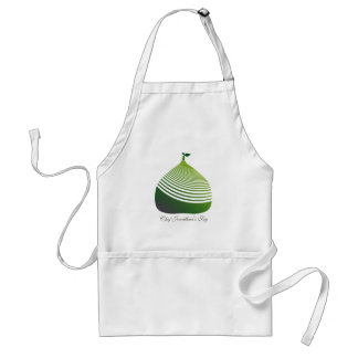 My Juicy Green Fig Chef Apron
