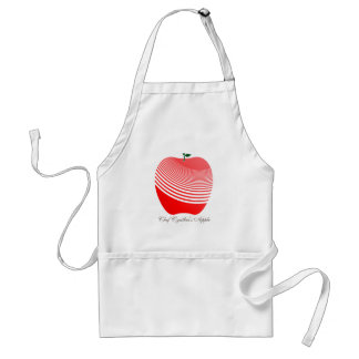 My Juicy Red Apple Chef Apron