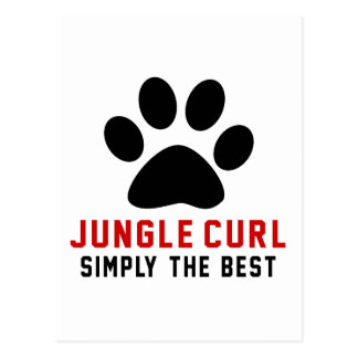 My Jungle Curl Simply The Best Postcard