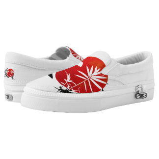 My Kanji Love Printed Shoes