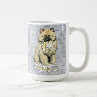 My Keeshond Ate My Lesson Plan Coffee Mug
