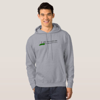 my kid loves me whatever my golf score is hoodie