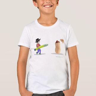 My Kid's Food Allergies Cowboy vs. Peanut Kids T-Shirt