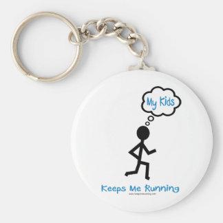 My Kids - Keeps Me Running Key Ring