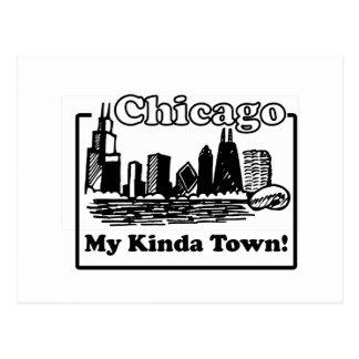 My Kinda Town Postcard