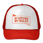 My Kitchen. My Rules. Fun Design for Kitchen Boss Hat