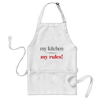 My Kitchen, My Rules Standard Apron