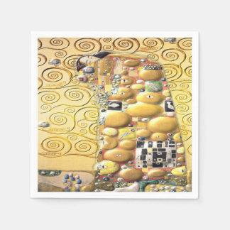 My Klimt Serie : Embrace Disposable Serviette
