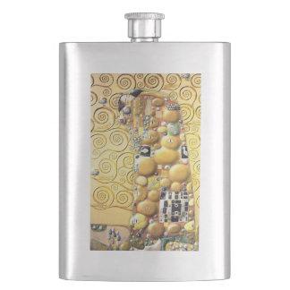 My Klimt Serie : Embrace Hip Flask
