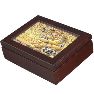 My Klimt Serie : Embrace Keepsake Box