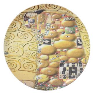 My Klimt Serie : Embrace Plate