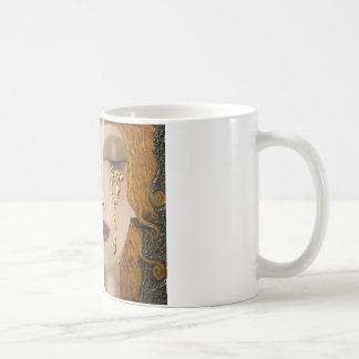 My Klimt Serie:Gold Basic White Mug