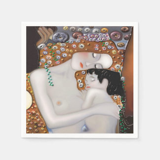 My Klimt Serie : Mother & Child Disposable Serviette