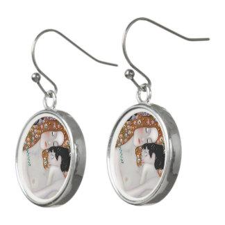 My Klimt Serie : Mother & Child Earrings