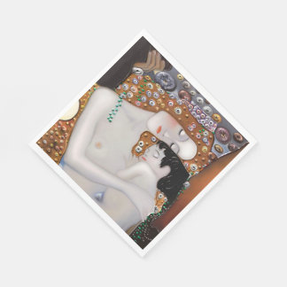 My Klimt Serie : Mother & Child Paper Napkin