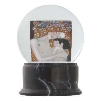 My Klimt Serie : Mother & Child Snow Globe