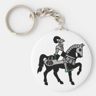 My Knight Basic Round Button Key Ring
