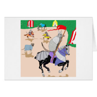 My Knight In Shining Armor Card