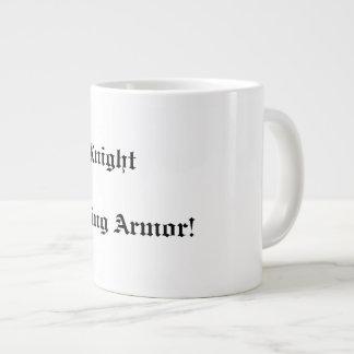 My Knight in Shining Armor mug 20 Oz Large Ceramic Coffee Mug