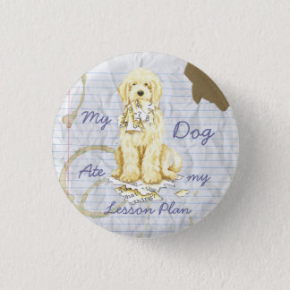 My Komondor Ate My Lesson Plan 3 Cm Round Badge