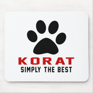 My Korat Simply The Best Mouse Pad
