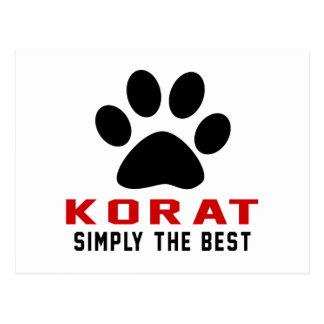 My Korat Simply The Best Postcard