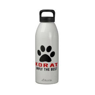 My Korat Simply The Best Reusable Water Bottle
