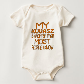 MY KUVASZ IS SMARTER THAN MOST PEOPLE I KNOW BABY BODYSUIT