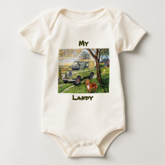 My Landy Baby Grow (Creeper) Baby Bodysuit