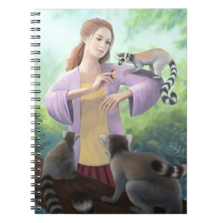 My Lemur Friends Notebook