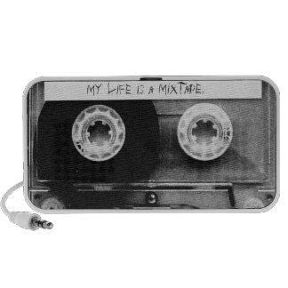 My Life Is A Mixtape. - desktop speakers