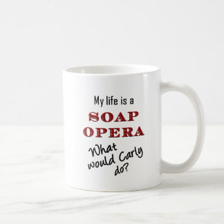 My Life is a Soap Opera Carly/Vivian Mug