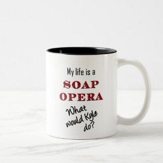My Life is a Soap Opera Kyle Mug