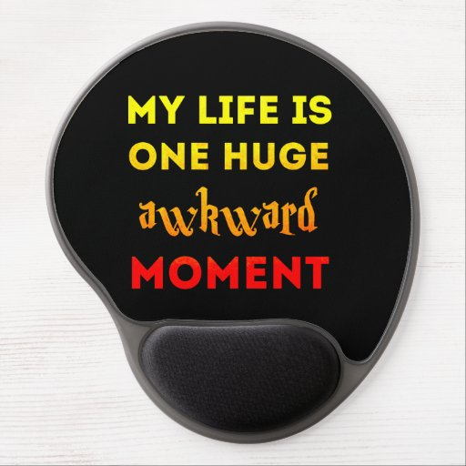 My life is awkward gel mouse mats