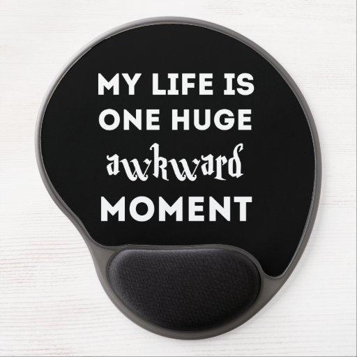 My life is awkward gel mousepad