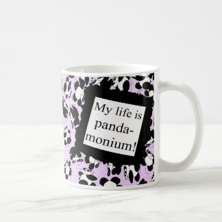 My life is panda-monium coffee mug