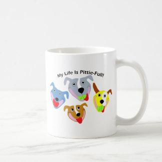 My Life is Pittie-full Coffee Mug