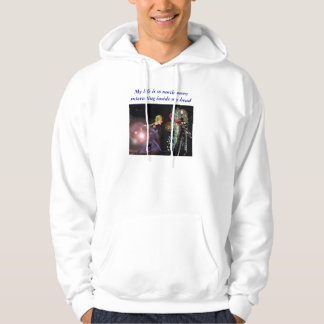 My life is so much more interesting inside... hoodie