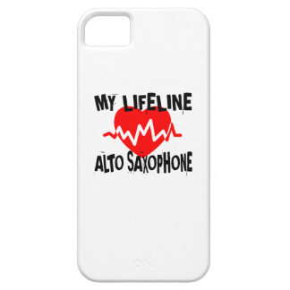 MY LIFE LINA ALTO SAXOPHONE MUSIC DESIGNS CASE FOR THE iPhone 5