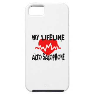MY LIFE LINA ALTO SAXOPHONE MUSIC DESIGNS iPhone 5 COVER
